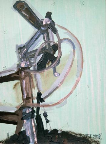Schwinn Klunker - Bicycle Bike Art