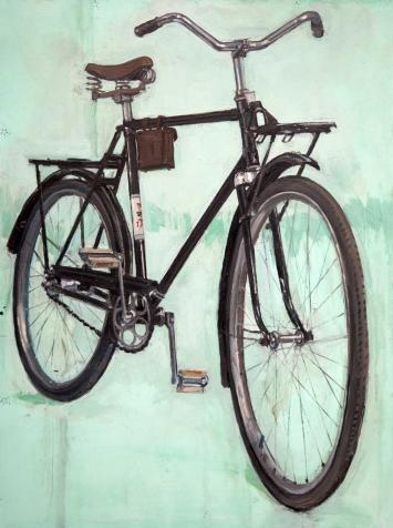 Ukrania Kharkov Bicycle Bike Cycling Art Painting