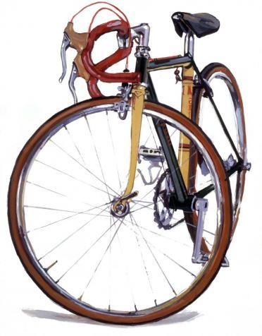 Mariposa Bicycle Art
