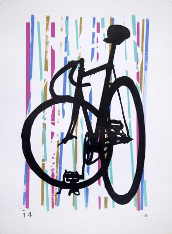 Drysdale Velox Ace Track Bike Art