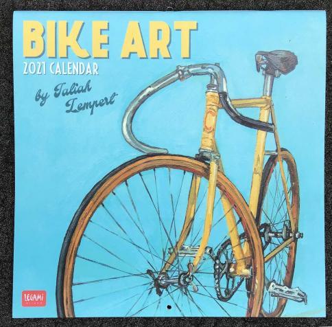 2021 Bike Art Calendar Taliah Lempert