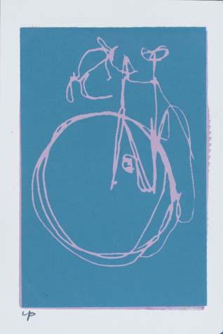 Road Bike Scribble Print 4 Bicycle Paintings Prints And