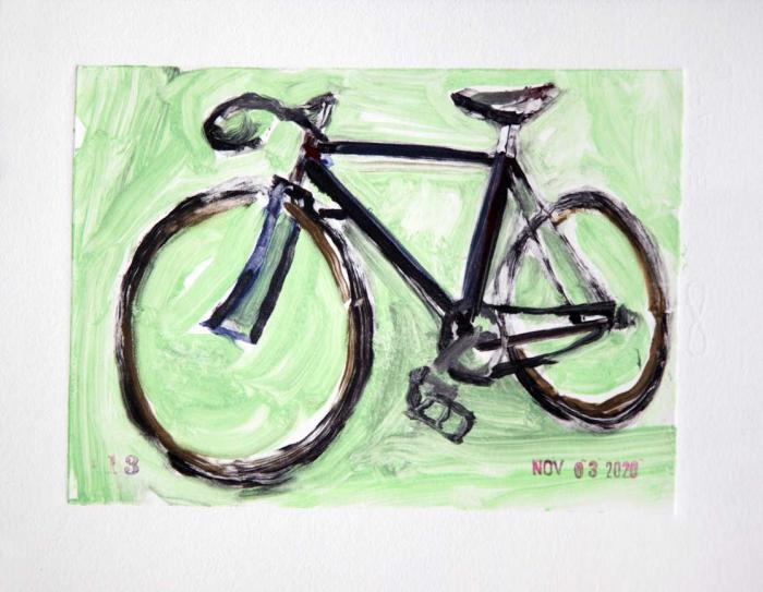 Drysdale Velox Ace - Bicycle Art