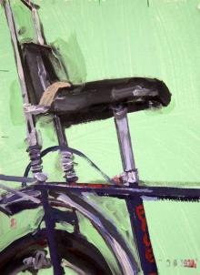 Raleigh Chopper  - Bicycle Bike Art