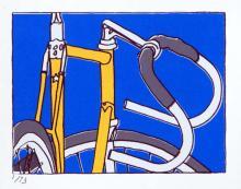 Prints Gallery Bicycle Paintings Prints And Custom Bike